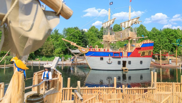 PLAYMOBIL-FunPark Piratenschiff