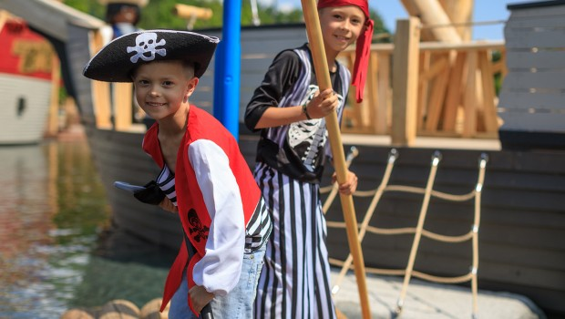Playmobil FunPark Piratensee Floß