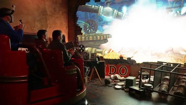 Popcorn Revenge Dark Ride Erratic Alterface