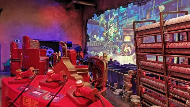 Popcorn Revenge Walibi Belgium Maschinenraum