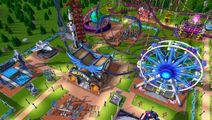 RollerCoaster Tycoon Simulation