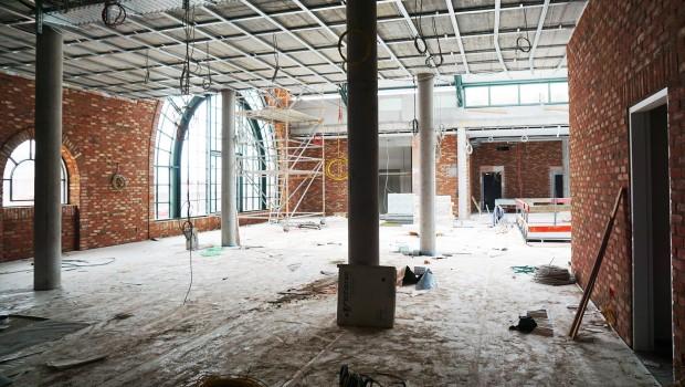 Rulantica Baustelle Juni 2019 Eingangsbereich
