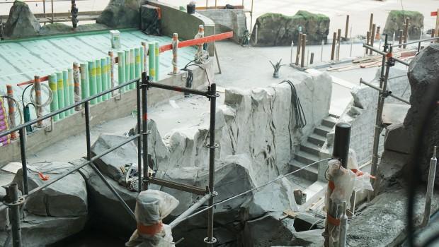 Rulantica Baustelle Juni 2019 Schiffswrack