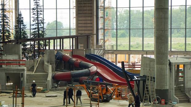 Rulantica Baustelle Juni 2019 Rutschen