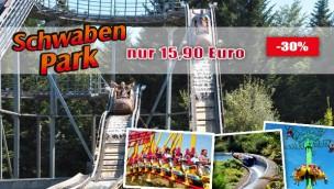 Schwaben-Park Tickets günstiger: Online-Angebot für 15,90 Euro (statt 22 Euro)