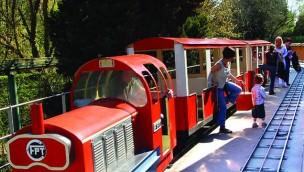 Parkzug in Touroparc.Zoo entgleist – mehrere Besucher leicht verletzt