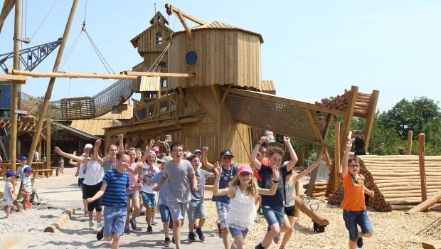 Erlebnispark Tripsdrill Spielwelt Sägewerk eröffnet