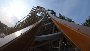 Walibi Holland Untamed OnRide