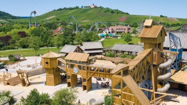 Erlebnispark Tripsdrill Sägewerk neu 2019