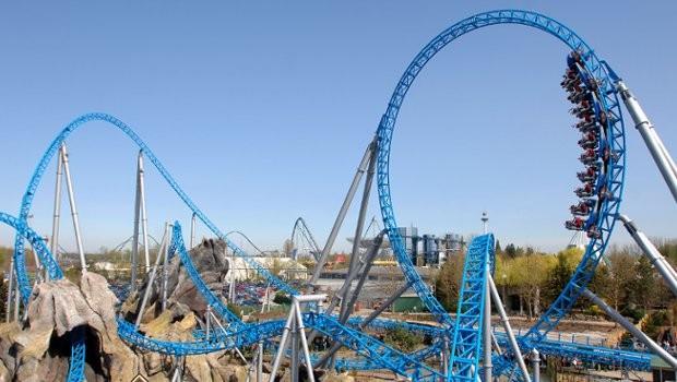 Europa-Park blue fire Megacoaster