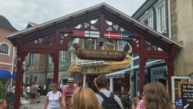Europa-Park Skandinavisches Dorf Pre-Opening