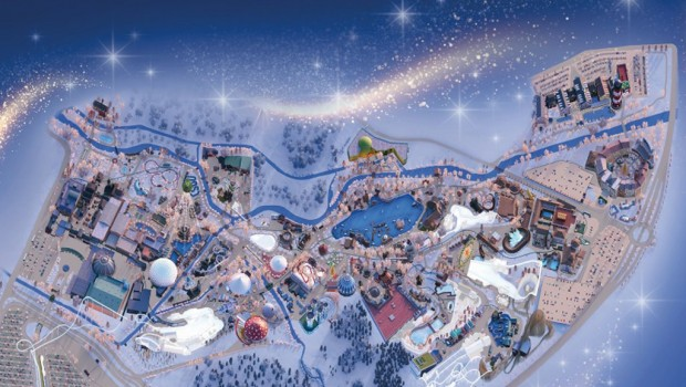 Europa-Park Winter-Saison 2019/20 Parkplan