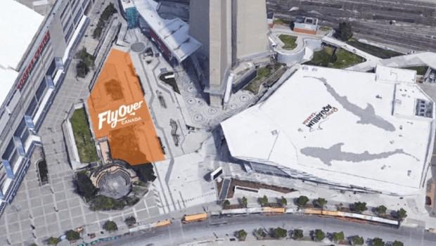 FlyOver Toronto Visualisierung