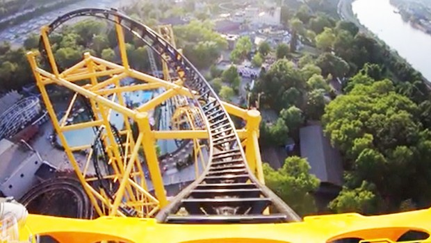 Kennywood Steel Curtain OnRide