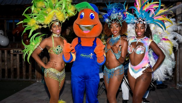 Kernie Wunderland Kalkar Samba Tänzerinnen