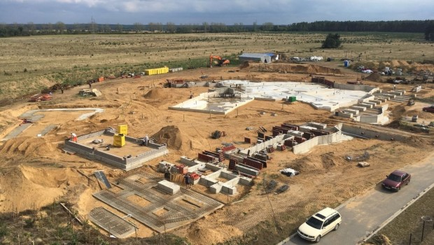 Majaland Kownaty 2020 Baustelle September