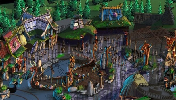 Majaland Kownaty 2020 Wickie Themenbereich Dorf
