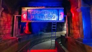 """Erneuerte Wasserbahn """"Area 51 – Top Secret"""" im Movie Park Germany kurz vor Eröffnung"""