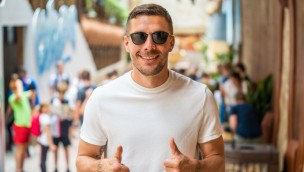 Phantasialand Crazy Bats Lukas Podolski