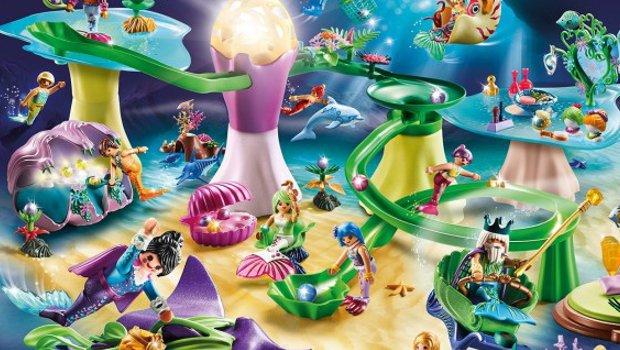 Playmobil FunPark Königreich der Meerjungfrauen neu 2020