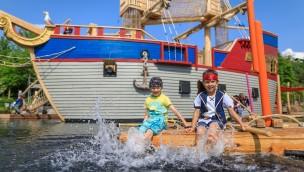 PLAYMOBIL-FunPark Wasserspaß Piratenschiff