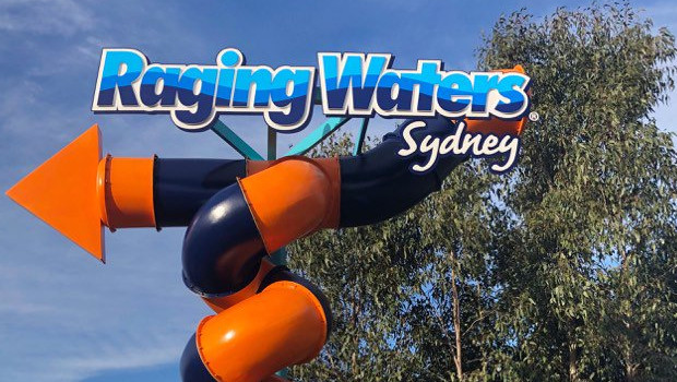 Raging Waters Sydney neues Logo