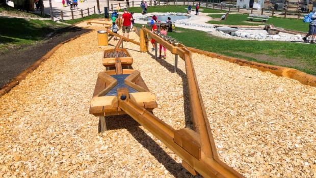 SummerPark La Crusc Holzkugelbahn