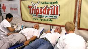 Erlebnispark Tripsdrill DRK Blutspende 2019