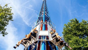 Walibi Holland Space Shot