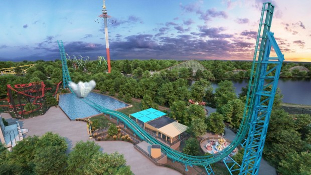 Aquaman Six Flags Over Texas Power Splash