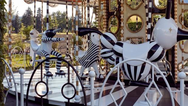 Carousel Swarowski Kristallwelten Figuren