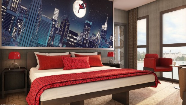 Disneyland Paris Hotel New York Spider Man Suite