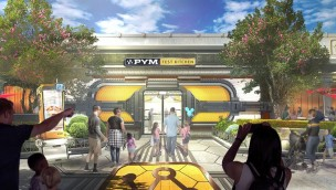 Disneyland Paris Pym Test Kitchen (Avengers Campus) Artwork