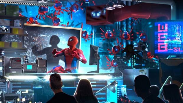 Disneyland Paris Spider-Man Dark Ride Pre-Show