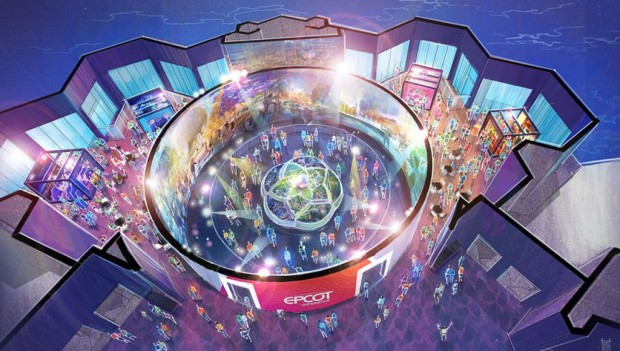 Epcot Walt Disney Imagineering presents the Epcot Experience Artwork