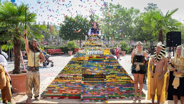 Größte LEGO Pyramide der Welt LEGOLAND Deutschland