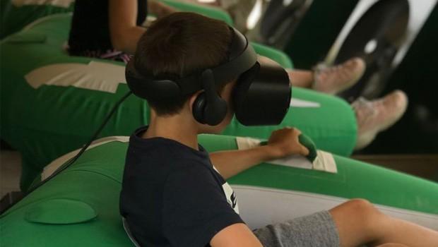 Jardin d'Acclimatation Rafting Adventure VR-Brille