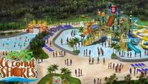 """Kings Dominion kündigt für 2020 neu Soak City-Erweiterung """"Coconut Shores"""" an"""