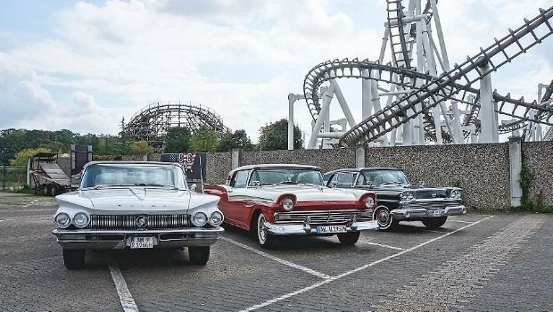 Movie Park Germany US-Car-Show 2019