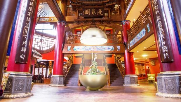 Phantasialand Hotel Ling Bao Lobby