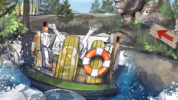 Silver Dollar City 2020 Mystic River Falls Rafting Wasser