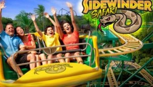 Six Flags Discovery Kindgdom Slidewinder Safari