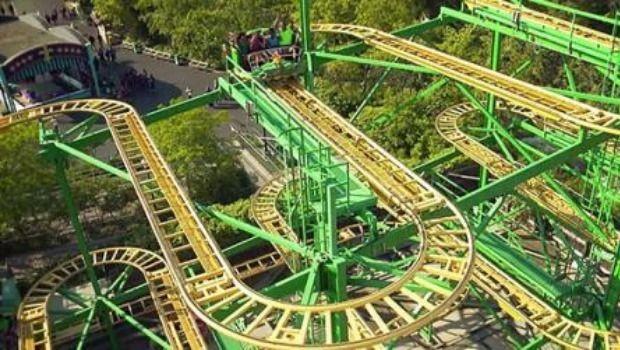 Six Flags Discovery Kindgdom Slidewinder Safari