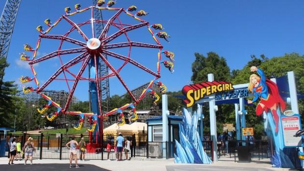 Six Flags New England Supergirl Ankündigung 2020