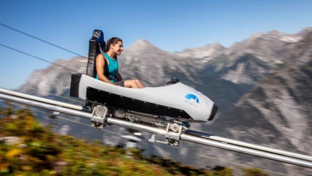 Venet Bob Sommerrodelbahn Alpen Achterbahn Venetberg