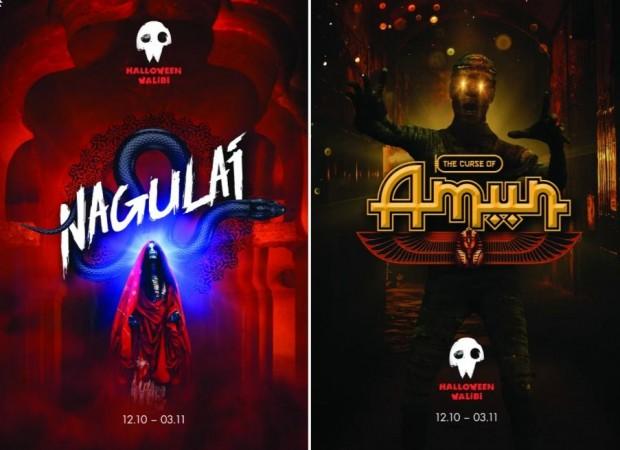 Walibi Belgium Halloween Nagulai und The Curse of Amun 2019