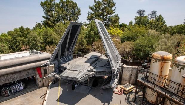 Der neue Star Wars-Themenbereich besteht aus zahlreichen Schauplätzen. (Foto: Disney)