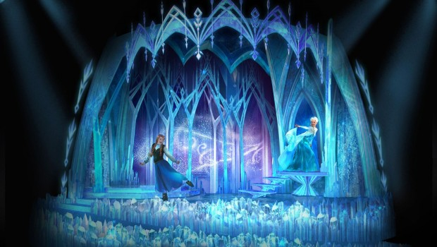 Disneyland Paris Frozen A Musical Invitation neu 2019 Artwork