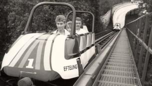 Efteling Bobbahn 1985 Eröffnung