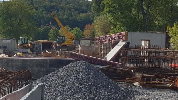 Erlebnispark Tripsdrill neue Achterbahn 2020 Baustelle